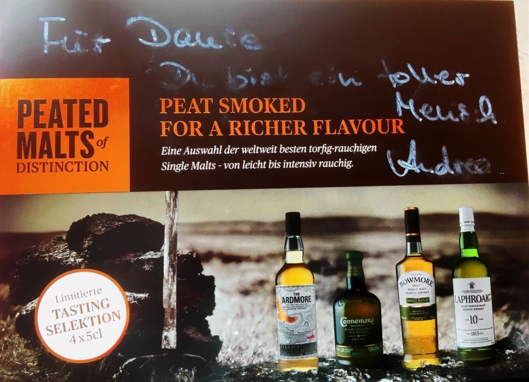 Sample whisky zestaw